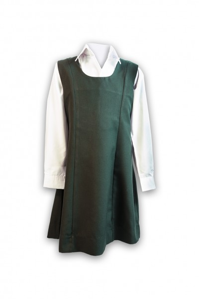 Bottle Green Round Neck Tunic